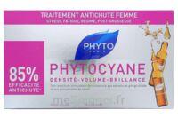 PHYTOCYANE SOIN ANTICHUTE STIMULATEUR DE CROISSANCE PHYTO 12 x 7,5ML à Vierzon