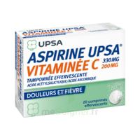 ASPIRINE UPSA VITAMINEE C TAMPONNEE EFFERVESCENTE, comprimé effervescent à Vierzon