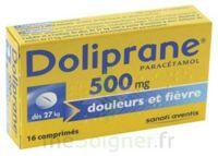 DOLIPRANE 500 mg Comprimés 2plq/8 (16) à Vierzon