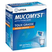 Mucomyst 200 Mg Poudre Pour Solution Buvable En Sachet B/18 à Vierzon