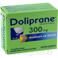 Doliprane 300 Mg Poudre Pour Solution Buvable En Sachet-dose B/12 à Vierzon