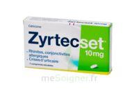 ZYRTECSET 10 mg, comprimé pelliculé sécable à Vierzon