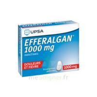 Efferalgan 1000 Mg Comprimés Pelliculés Plq/8 à Vierzon