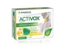 Activox sans sucre Pastilles menthe eucalyptus B/24 à Vierzon