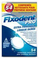 Fixodent Pro Comprimés Nettoyant Fraîcheur Longue Durée Pour Prothèse Dentaire B/54 à Vierzon