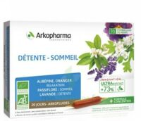 ARKOFLUIDE BIO ULTRAEXTRACT Solution buvable détente sommeil 20 Ampoules/10ml à Vierzon