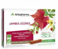 Arkofluide Bio Ultraextract Solution buvable jambes légères 20 Ampoules/10ml à Vierzon