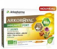 Arkoroyal Immunité Fort Solution Buvable 20 Ampoules/10ml à Vierzon