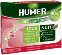 Humer Nez/gorge Jour&nuit 15 Comprimés à Vierzon