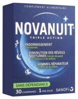 Novanuit Triple Action Comprimés B/30 à Vierzon