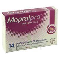 MOPRALPRO 20 mg Cpr gastro-rés Film/14 à Vierzon