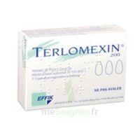 Terlomexin 200 Mg, Capsule Molle Vaginale à Vierzon