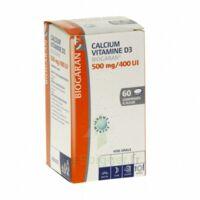 CALCIUM VITAMINE D3 BIOGARAN 500 mg/400 UI, comprimé à sucer à Vierzon