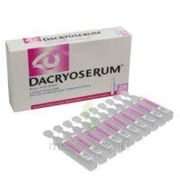 Dacryoserum Solution Pour Lavage Ophtalmique En Récipient Unidose 20unidoses/5ml à Vierzon