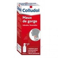 COLLUDOL Solution pour pulvérisation buccale en flacon pressurisé Fl/30 ml + embout buccal à Vierzon