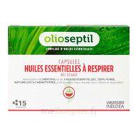 OLIOSEPTIL - Capsules Huiles essentielles à respirer - Nez dégagé à Vierzon