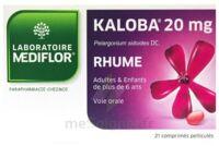 KALOBA 20 mg Comprimé pelliculé Plq/21 à Vierzon