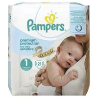 Pampers couches new baby sensitive taille 1 - 21 couches à Vierzon