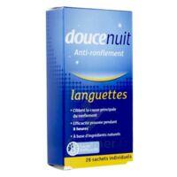 Doucenuit Antironflement Languettes, Sachet 28 à Vierzon