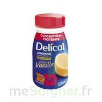 DELICAL BOISSON HP HC CONCENTREE Nutriment vanille 4Bouteilles/200ml à Vierzon