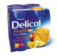 DELICAL BOISSON FRUITEE Nutriment multi fruits 4Bouteilles/200ml à Vierzon