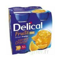DELICAL BOISSON FRUITEE Nutriment orange 4Bouteilles/200ml à Vierzon
