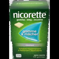 Nicorette 2 Mg Gom à Mâcher Médic Sans Sucre Menthe Fraîche Plq/105gom à Vierzon