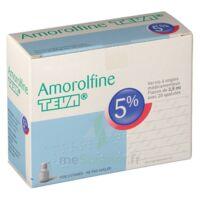 AMOROLFINE TEVA 5 % Vernis ongl médic médicamenteux 1Fl ver/2,5ml+spat à Vierzon