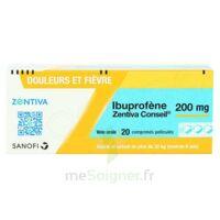 Ibuprofene Zentiva Conseil 200 Mg, Comprimé Pelliculé à Vierzon