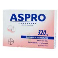 ASPRO 320 mg, comprimé à Vierzon