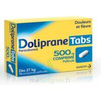DOLIPRANETABS 500 mg Comprimés pelliculés Plq/16 à Vierzon