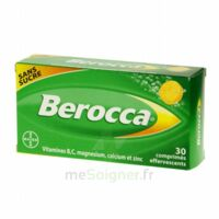 Berocca Comprimés effervescents sans sucre T/30 à Vierzon