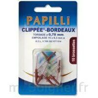 PAPILLI - CLIPPEE, bordeaux, sachet 10 à Vierzon