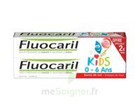 Fluocaril Kids Gel dentifrice Fraise 0/6ans 2*50ml à Vierzon
