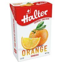 Halter Bonbon sans sucre orange 40g à Vierzon