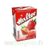 Halter Bonbon sans sucre fraise 40g à Vierzon