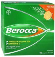 Berocca Comprimés effervescents sans sucre T/60 à Vierzon