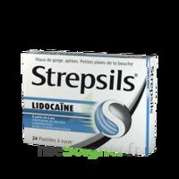 Strepsils lidocaïne Pastilles Plq/24 à Vierzon