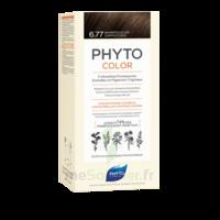 Phytocolor Kit Coloration Permanente 6.77 Marron Clair Cappuccino à Vierzon