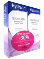 Hydralin Quotidien Gel lavant usage intime 2*200ml à Vierzon