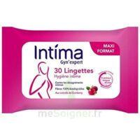 Intima Gyn'Expert Lingettes Cranberry Paquet/30 à Vierzon