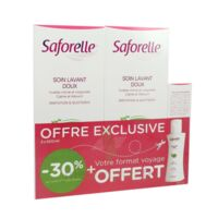 Saforelle Solution Soin Lavant Doux 2*500ml+100ml à Vierzon
