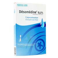 Desomedine 0,1 % Collyre Sol 10fl/0,6ml à Vierzon