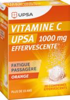 Vitamine C Upsa Effervescente 1000 Mg, Comprimé Effervescent à Vierzon